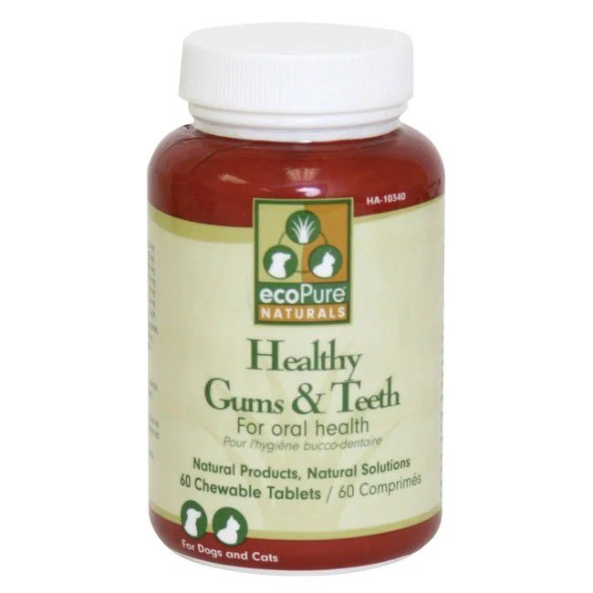 ecoPure Naturals Healthy Gums and Teeth Supplement ...