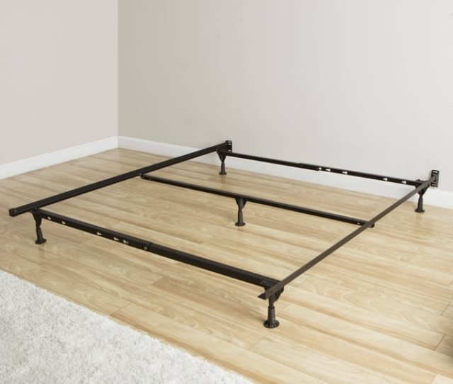 Rize Queen Size Bed Frame With Glides And Cross Support