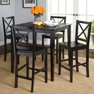 kitchen table and chair grey accent buy counter height dining room sets online at overstock simple living cross back 5 piece set