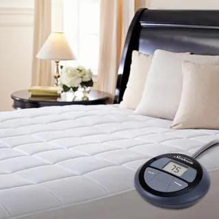 Sunbeam Premium Heated Electric Queen Size Mattress Pad
