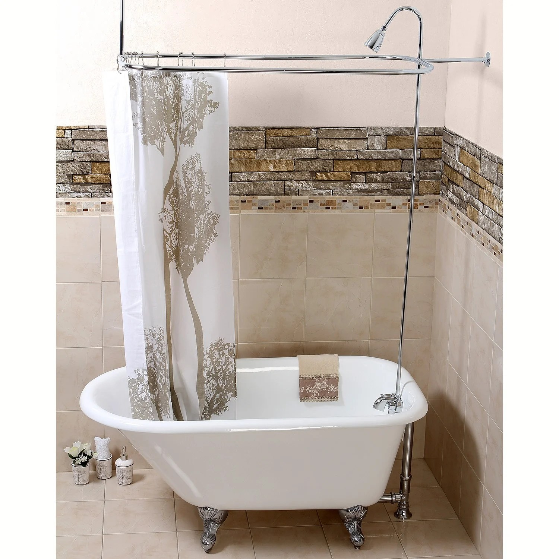 Chrome Convert A Shower Shower Kit