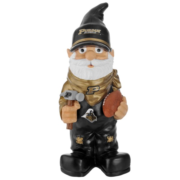 Purdue Boilermakers 11- Thematic Garden Gnome - Free Shipping Orders Over 45