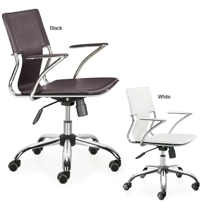 Elegant Leatherette Office Chair  Overstock Shopping