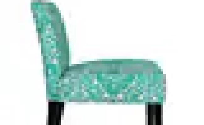 Angelo Home Bradstreet Damask Turquoise Blue Upholstered