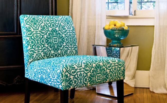 Angelo Home Bradstreet Modern Damask Turquoise Blue