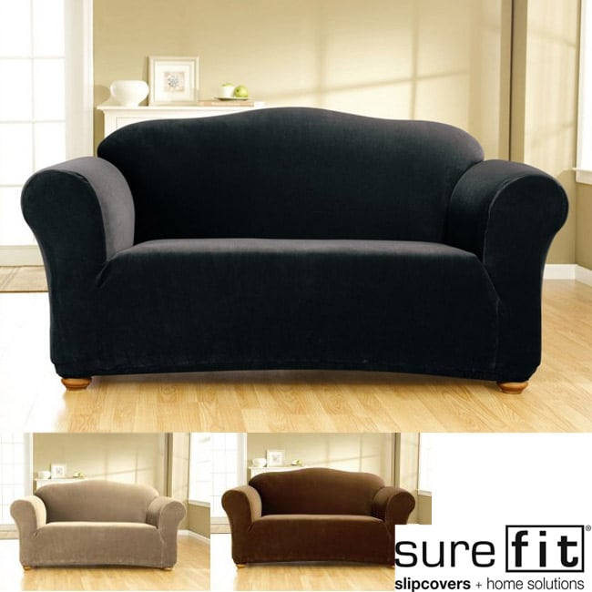 Sure Fit Stretch Corduroy Loveseat Slipcover Free - Patio Furniture Clearance