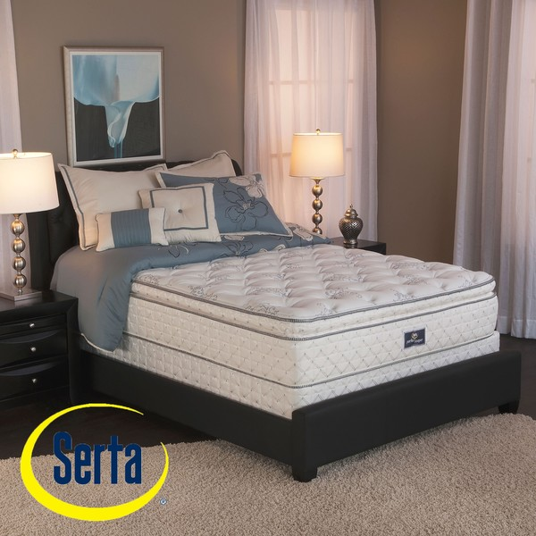 sofa bed with innerspring mattress how to reupholster a leather fabric shop serta perfect sleeper liberation pillow top cal king ...