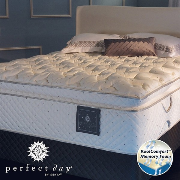 Shop Serta Perfect Day Imperial Suite Euro Top Queen Size