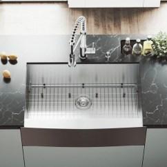 Kitchen Sink Grates Stone Backsplash Shop Vigo Camden Stainless Steel 33 Inch Grid And Strainer