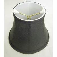 Shop Round Silk Black Lamp Shade - Free Shipping On Orders ...