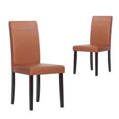Dining Chairs Overstock Chair Cover Christmas Decorations Warehouse Of Tiffany Toffee Room Set 4