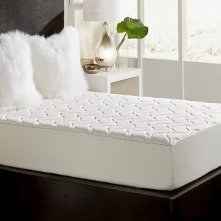 Twin Size 10 Inch Quilted Rayon Knit Memory Foam Mattress