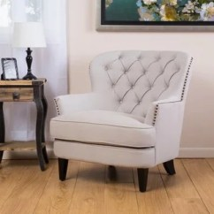 Bedroom Club Chair Wicker Hanging Chairs Buy Living Room Online At Overstock Com Christopher Knight Home Tafton Tufted Natural Fabric