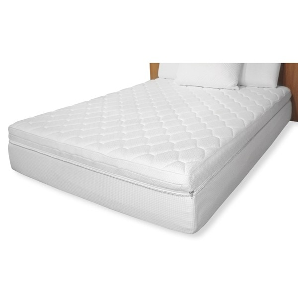 Reversible Pillow Top 12 Inch Twin Size Memory Foam Mattress