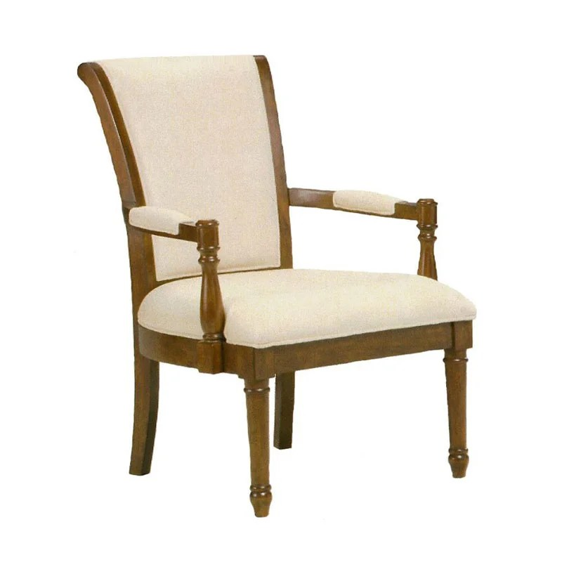 Louis Solid Ivory Accent Chair  Free Shipping Today