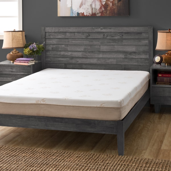 Grande Hotel Collection Posture Support 8 Inch Queen Size Memory Foam Mattress Click To Zoom