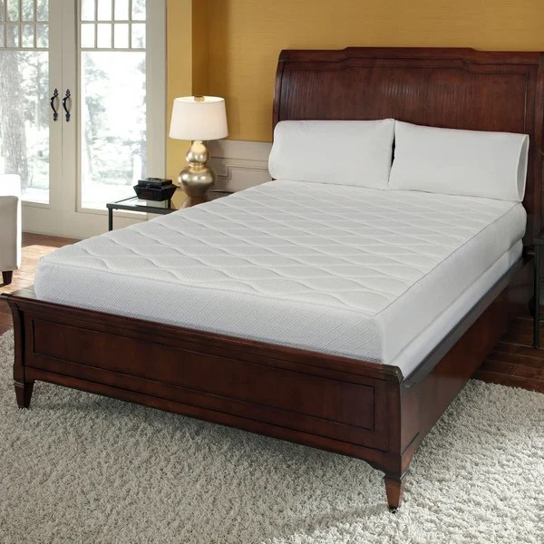 Quilted Top 10 Inch California King Size Memory Foam Mattress