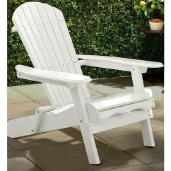 Merry Garden Adirondack Chair Black Leather Office High Back Simple White - Free Shipping Today Overstock.com 13758112