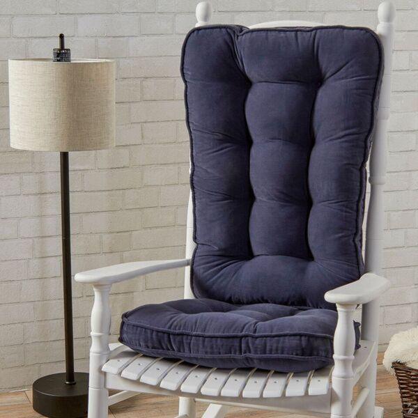 rocking chair cushion set canada outdoor covers big w shop greendale home fashions denim hyatt jumbo
