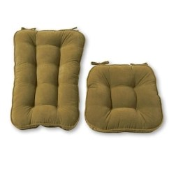 Rocking Chair Pad Set Fitdesk Bike Desk Shop Greendale Home Fashions Moss Hyatt Jumbo Cushion
