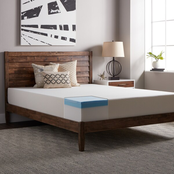 Select Luxury Gel Memory Foam 10 Inch King Size Medium Firm Mattress