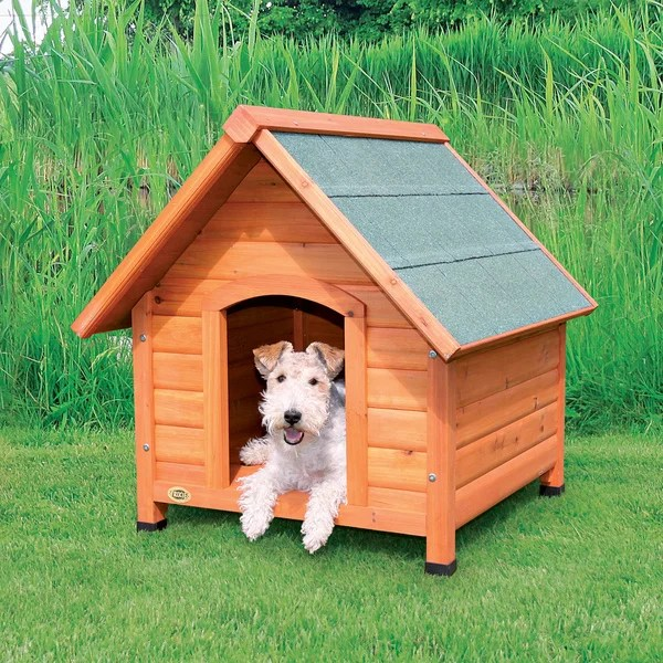 Shop Trixie Small Log Cabin Dog House  Free Shipping Today  Overstock  6141852