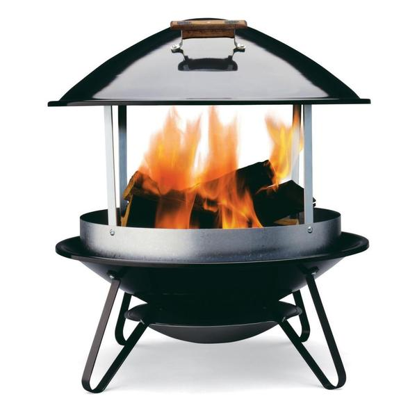 Weber Wood Burning Outdoor Fireplace  Free Shipping Today  Overstockcom  13806312