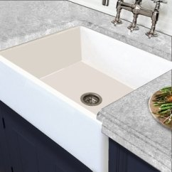 Cheap Kitchen Sink Colored Cabinets Buy Sinks Online At Overstock Com Our Best Deals White Italian Fireclay Reversible Farmhouse