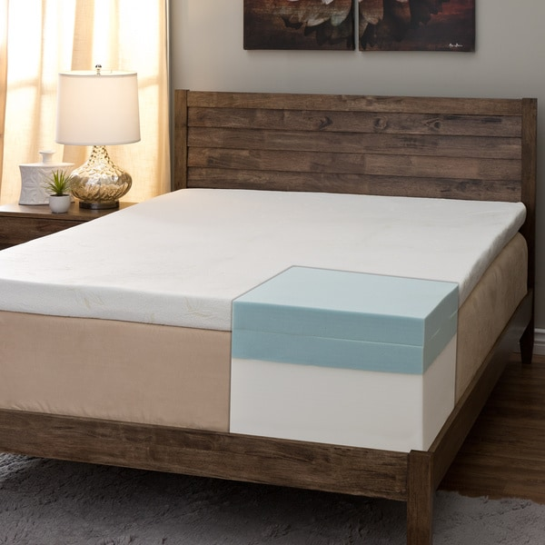 Comfort Dreams Pillow Top 14 Inch Queen Size Memory Foam Mattress