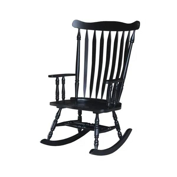 black rocking chairs precious planet high chair shop colonial antique 28 w x 36 d 44 5 h