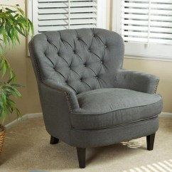Tafton Club Chair Tufted Slipper Oversized Fabric By Christopher Knight Home - Free Shipping Today ...