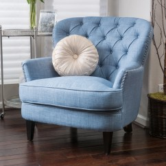 Tafton Club Chair Fancy Office Chairs Blue Living Room Audidatlevante