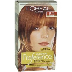 Office Chair Club Reviews Cover Ideas Shop L'oreal Superior Preference Fade-defying # 6r Light Auburn - Warmer Hair Color Free ...