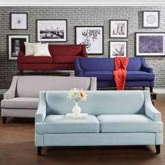 Overstock Sofa Best Sets In Mumbai Shop Winslow Concave Arm Modern By Inspire Q Bold Free