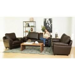 Abbyson Leather Sofa Reviews Best Brands 2018 Shop Sedona Top Grain 3 Piece Living Room ...