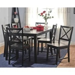 black cross back dining chairs chair stand test pics shop porch den third ward madison thumbnail amp set