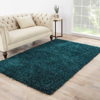 teal office chair upholstered slope arm dining shop vance handmade solid dark area rug (7'6