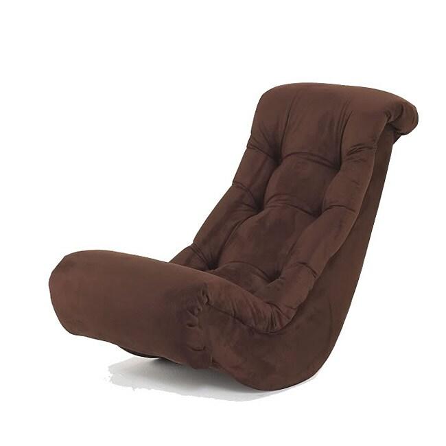 banana fiber rocking chair twin sleeper with ottoman shop hannah baby chocolate micro - free shipping today overstock ...