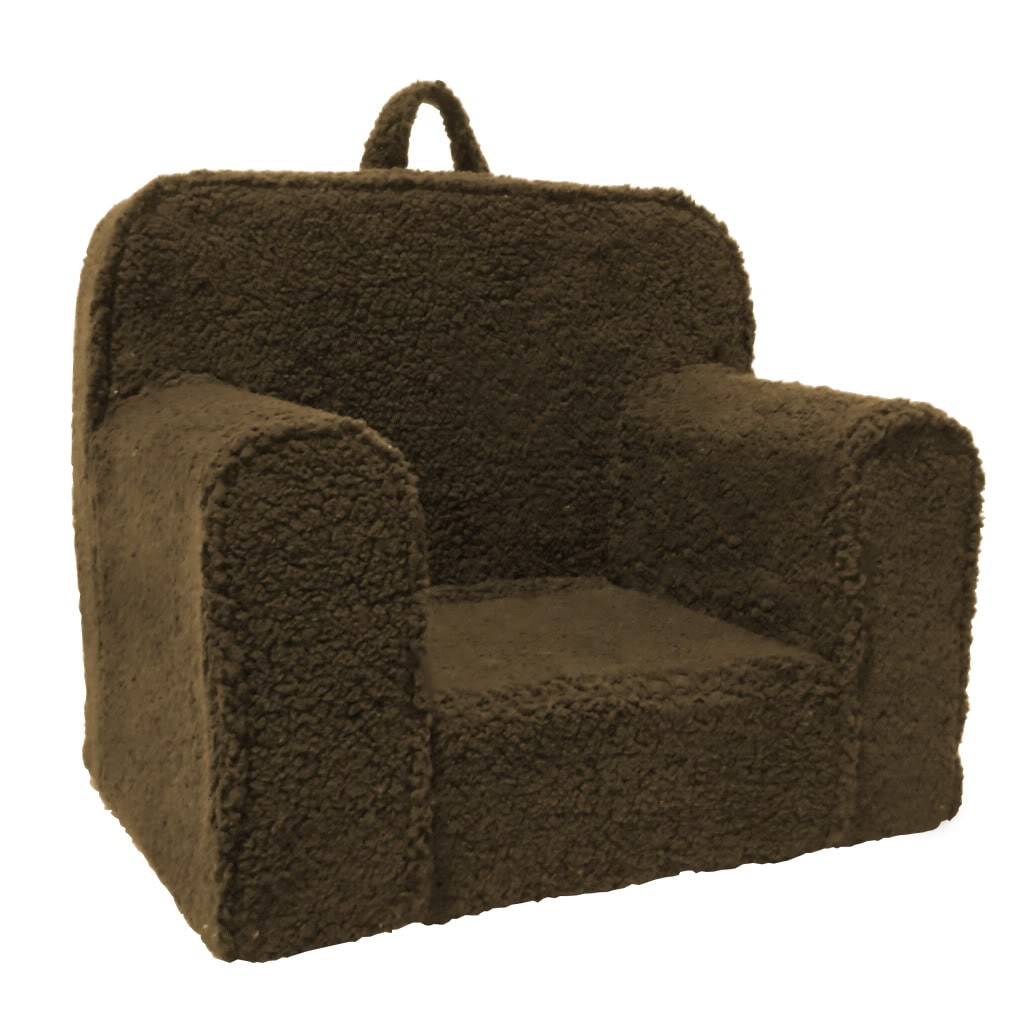Toddler Foam Chair Shop Magical Harmony Kids Chocolate Sherpa Everywhere Foam