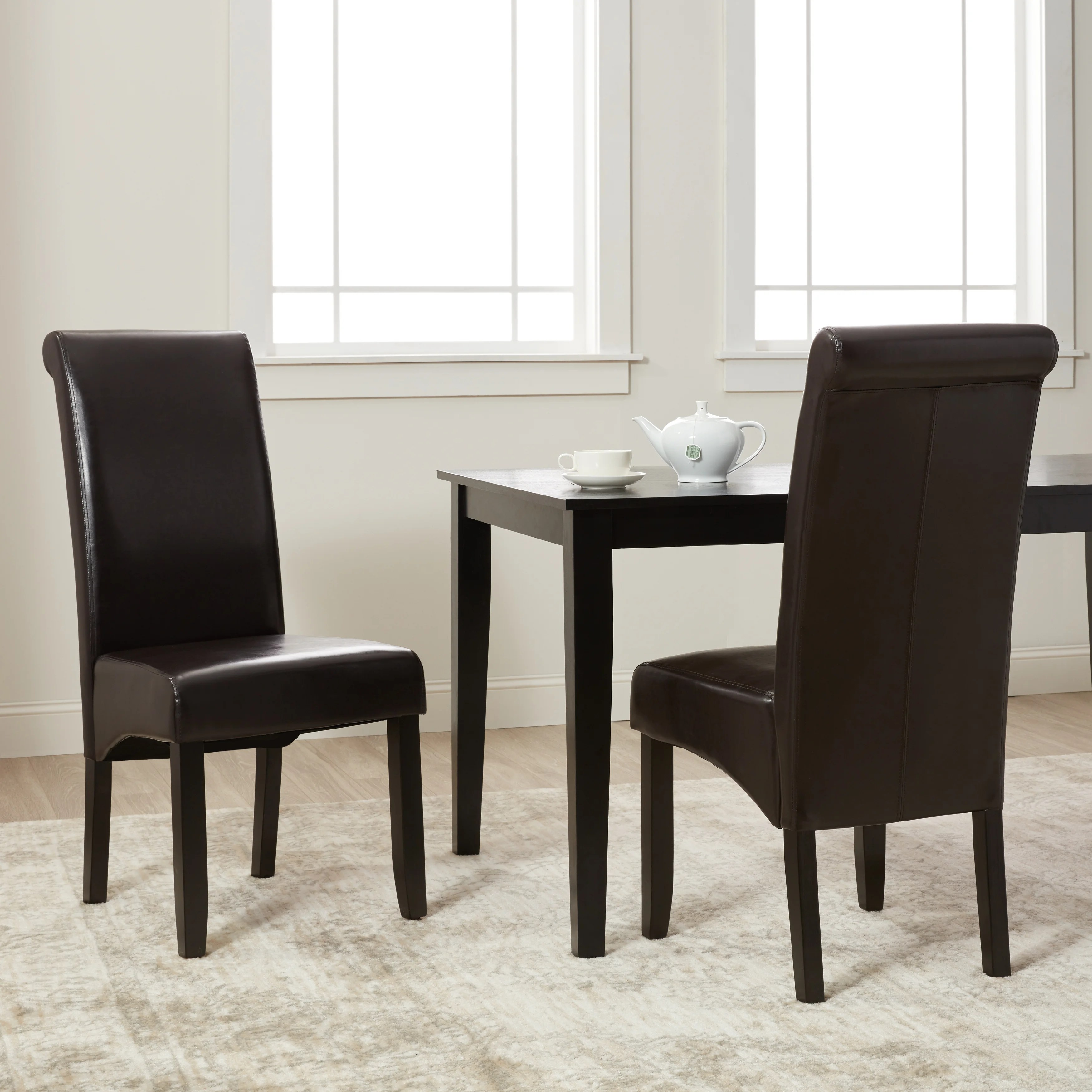 Buy Leather Kitchen Dining Room Chairs Online At Overstock