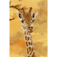 Shop Maxwell Dickson 'Giraffe' Canvas Wall Art - Free ...