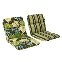 Pillow Perfect Outdoor Green Brown Tropical