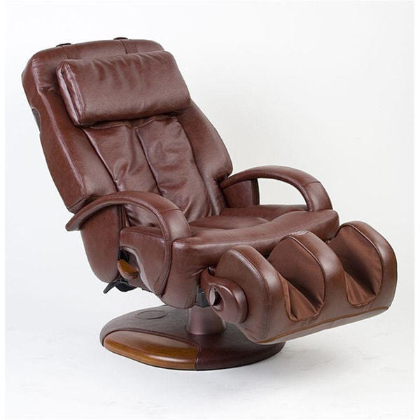 sharper image massage chairs design spandex chair covers shop espresso exclusive thermostretch refurbished free shipping today overstock com 6319313