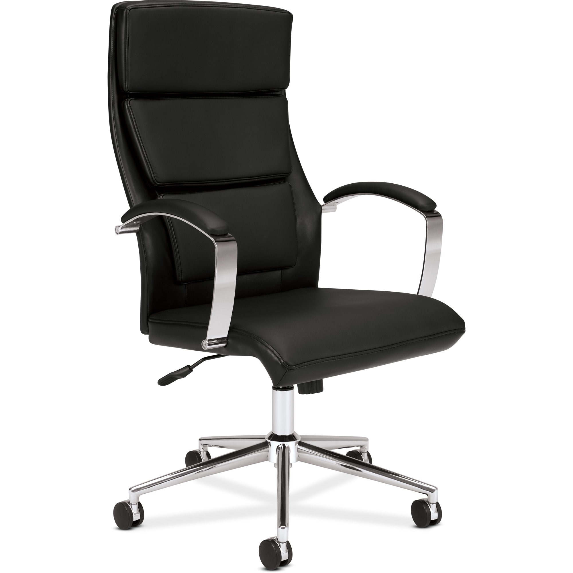 office chair overstock white dining room chairs set of 4 basyx by hon vl105 black high back executive task