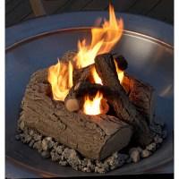 Real Flame Gel-burning Outdoor Log Set - Free Shipping ...