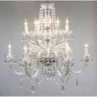 Shop Gallery Venetian-style All-crystal 12-light ...