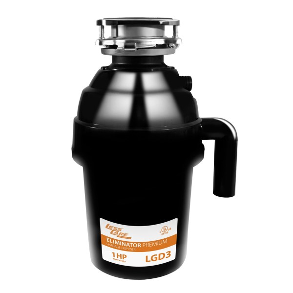 Lesscare Lgd3 1-horsepower Commercial Garbage Disposal - Free Shipping Today