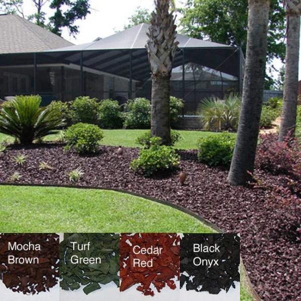 yardwise rubber landscape mulch