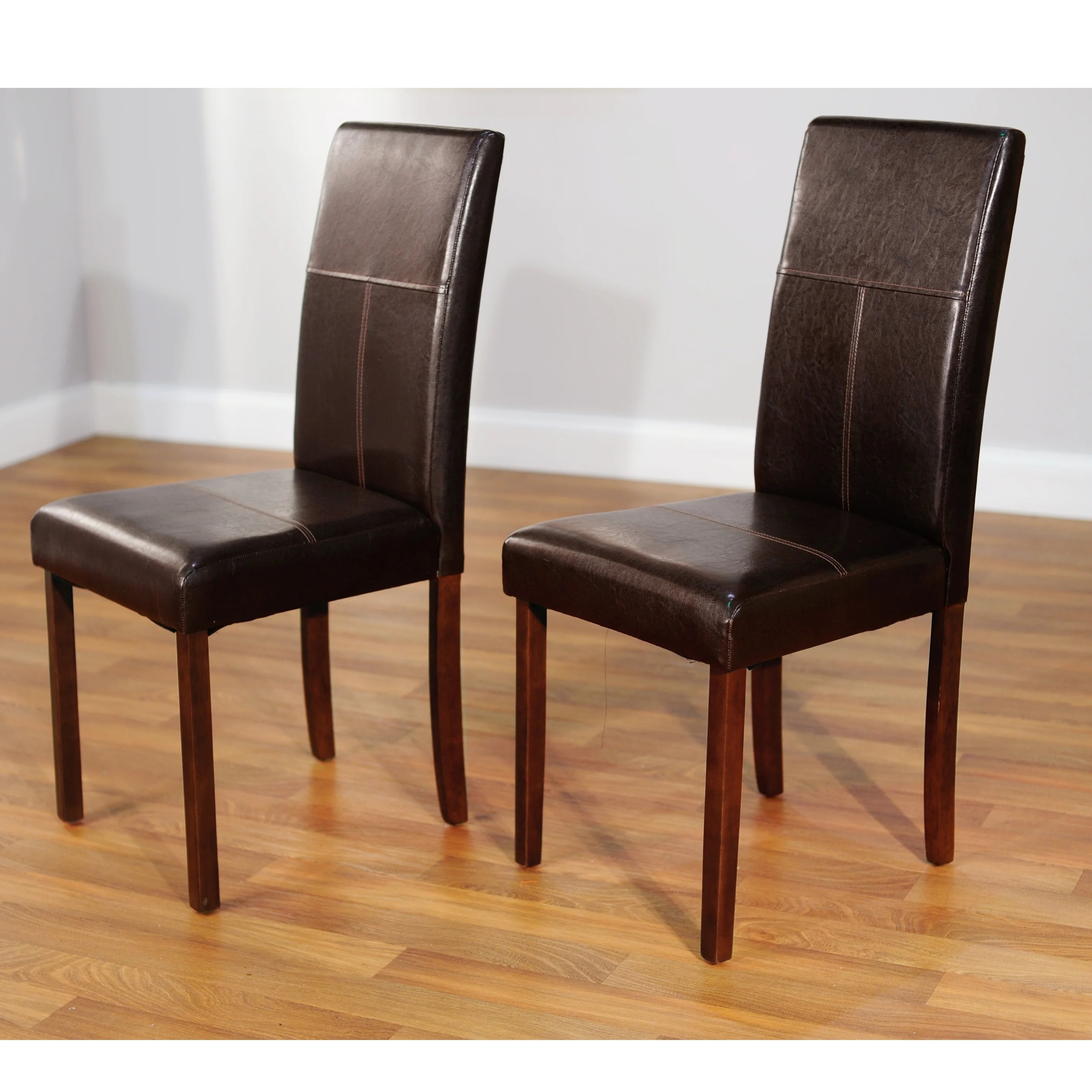 Overstock Chairs Simple Living Bettega Parson Chair Set Of 2 Overstock