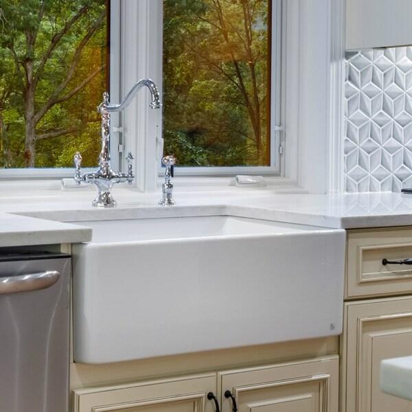 farm kitchen sink aid electric range shop large white fireclay apron front 29 5 inch farmhouse